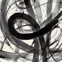 Roller Coaster I on White Fine-Art Print