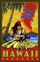 Aloha From Waikiki Fine-Art Print