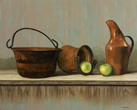 Rustic Cooking Pots Fine-Art Print