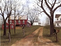 The Old Dirt Road Fine-Art Print