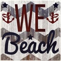 We Beach Fine-Art Print