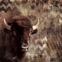 Call Of The Buffalo Fine-Art Print