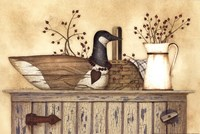 Duck And Berry Still Life Fine-Art Print