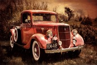 Little Red Truck Fine-Art Print