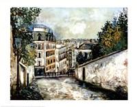 Street In Montmarte Fine-Art Print