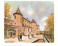 Chateau De Chastelloux Fine-Art Print