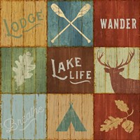 Lake Lodge VII Fine-Art Print