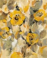 Yellow Floral I Fine-Art Print