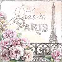 Paris Roses III Fine-Art Print