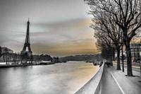 River Seine And The Eiffel Tower Fine-Art Print