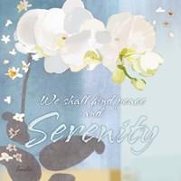 Blue Floral Inspiration I Fine-Art Print