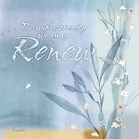 Blue Floral Inspiration VII Fine-Art Print