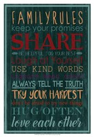 Spice Family Rules I Fine-Art Print