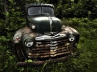 Rusty Auto I Fine-Art Print