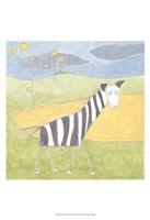 Quinn's Zebra Fine-Art Print