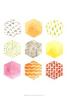 Honeycomb Patterns I Fine-Art Print