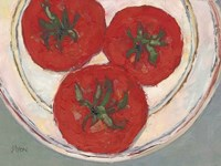 Plate with Tomato Fine-Art Print