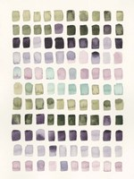 Serene Color Swatches I Fine-Art Print