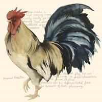 Rooster's Crow II Fine-Art Print