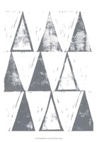 Triangle Block Print I Fine-Art Print