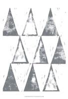 Triangle Block Print II Fine-Art Print
