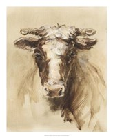 Western Ranch Animals II Fine-Art Print