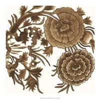 Tapestry Floral III Fine-Art Print
