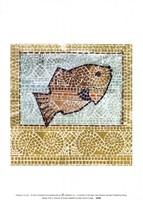 Mosaic Fish II Fine-Art Print