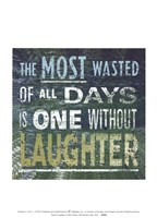 Transit Laughter In New Green Fine-Art Print