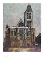 Basilica, St. Denis Fine-Art Print