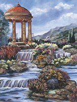 By The Waterfall Fine-Art Print
