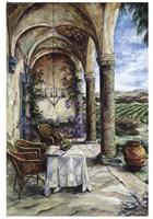 Loggia In Viola Fine-Art Print
