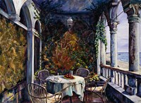Dining By The Sea Fine-Art Print