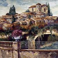 Village By The Stream Fine-Art Print
