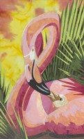 Flamingo Mom Fine-Art Print