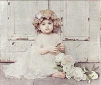 Victorian Baby on Porch Fine-Art Print