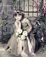 Fairy in Garden Fine-Art Print