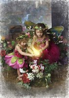 Fairies Find the Light Fine-Art Print