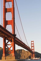 Golden Gate Bridge against a Blue Sky Fine-Art Print