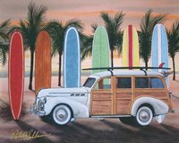 Sunset Woody Fine-Art Print