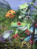 Tree Frogs Fine-Art Print