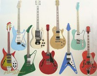Guitars Fine-Art Print
