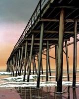 Vertical Pier Fine-Art Print