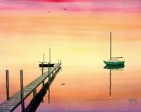 Pier & Boat Fine-Art Print