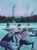 Baseball Players Fine-Art Print