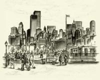 New York Battery Park Fine-Art Print