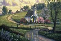 Community Church Fine-Art Print