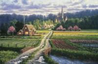 English Garden Fine-Art Print