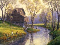 Fishing Mill Creek Fine-Art Print