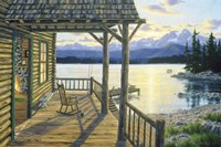 Mountain Lake Retreat Fine-Art Print